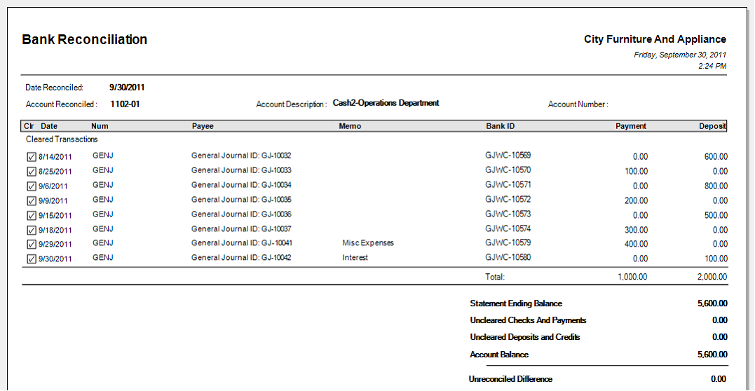 credit card statement template excel - banking bank reconciliation reconcile with